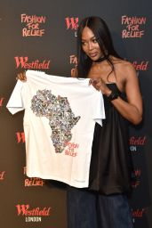 Naomi Campbell – Fashion For Relief Pop-Up Store in London 11/26/2019