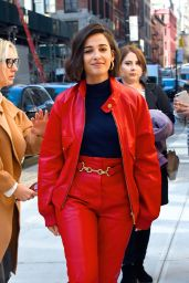Naomi Scott - Outside GMA Studios in NYC 11/06/2019