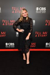 "Natalie Alyn Lind - ""Tell Me a Story"" Season 2 Premiere in Nashville"