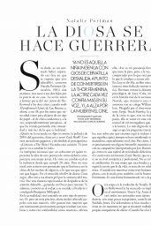 Natalie Portman - ELLE Magazine Spain December 2019 Issue