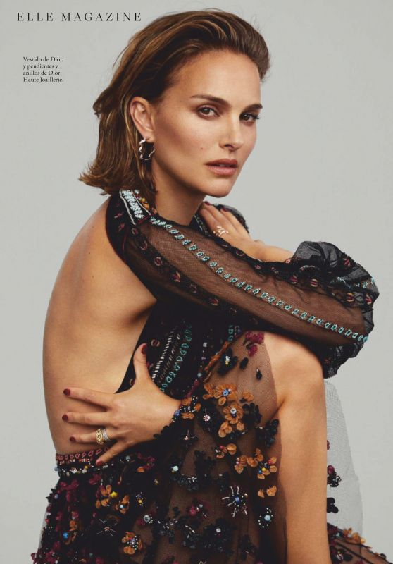 Natalie Portman - ELLE Magazine Spain December 2019 Issue