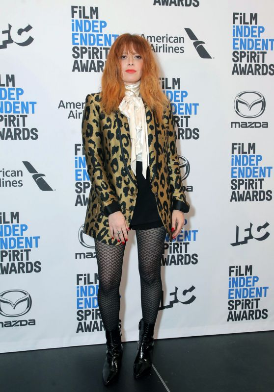 Natasha Lyonne - Film Independent Spirit Awards 2019 Nominations Press Conference in LA