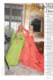 Nicky Hilton and Sabine Getty - Tatler Magazine UK December 2019 Issue