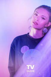 Nicole Maines - TV Guide November 2019