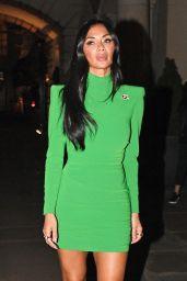Nicole Scherzinger in Emerald Dress 11/06/2019