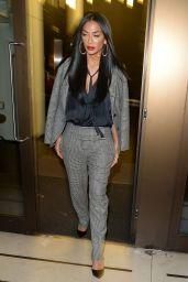 Nicole Scherzinger - Leaving Sony Music Offices in London 11/26/2019