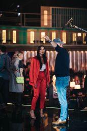 Nicole Scherzinger - The X Factor: Celebrity TV Show Rehearsals in London 11/01/2019