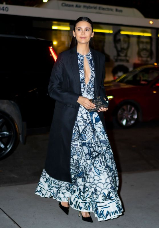 Nina Dobrev - Outside 2019 Guggenheim International Gala in NY