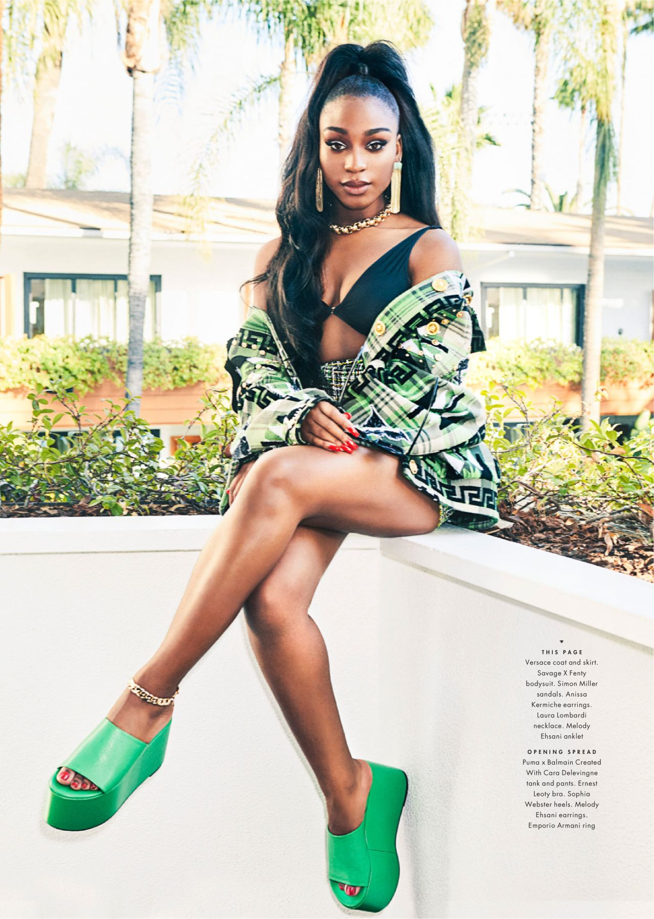 Normani Cosmopolitan Magazine Usa December 2019 Issue