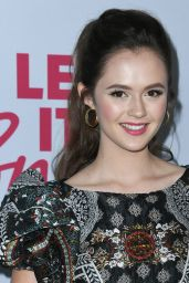 "Olivia Sanabia – ""Let It Snow"" Premiere in LA"