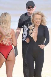 Pamela Anderson - Films Ultra Tune TV ad in Queensland 11/26/2019