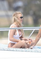 Pamela Anderson in Swimsuit - Photoshoot on the Gold Coast 11/27/2019