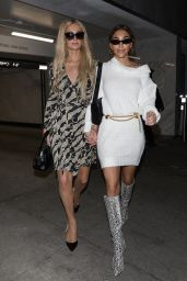 Paris Hilton and Chantel Jeffries - Bootsy Bellows in West Hollywood 11/05/2019