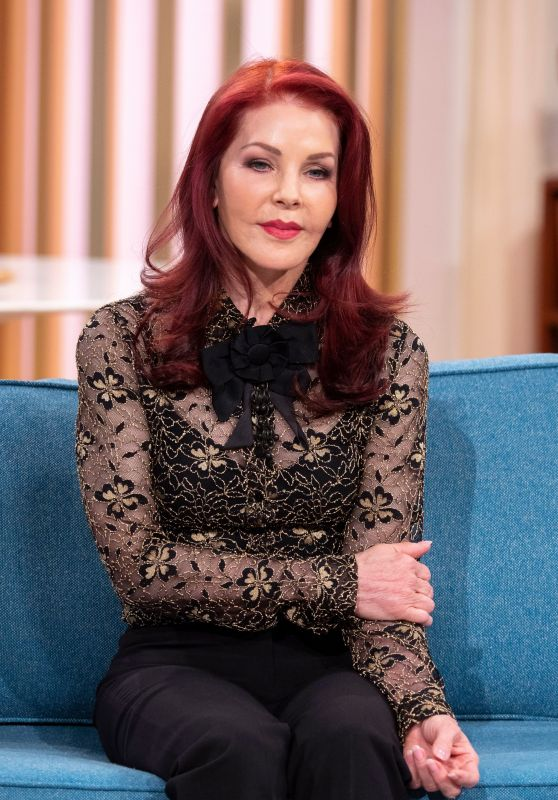 "Priscilla Presley - ""This Morning"" TV Show in London 11/22/2019"