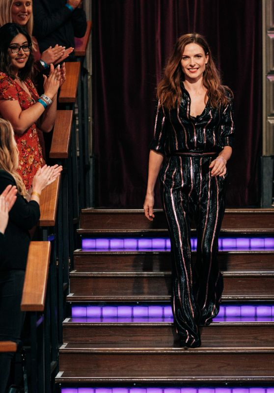 Rebecca Ferguson - The Late Late Show With James Corden in LA 10/28/2019
