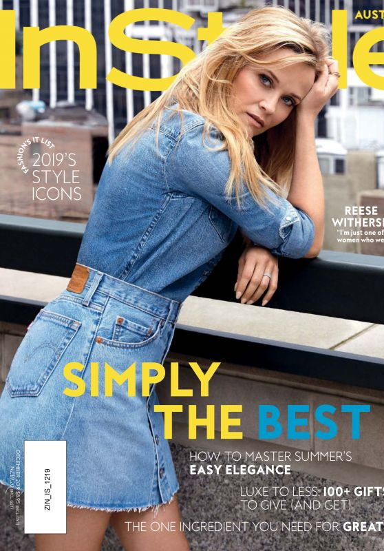 Reese Witherspoon - InStyle Magazine Australia December 2019 Issue