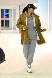 Rihanna at the Airport in Teaneck, New Jersey 11/29/2019