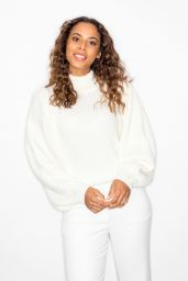"""Rochelle Humes - """"Lorraine"""" TV Show in London 11/14/2019"""