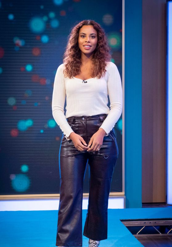 "Rochelle Humes -""This Morning"" TV Show in London 11/14/2019"