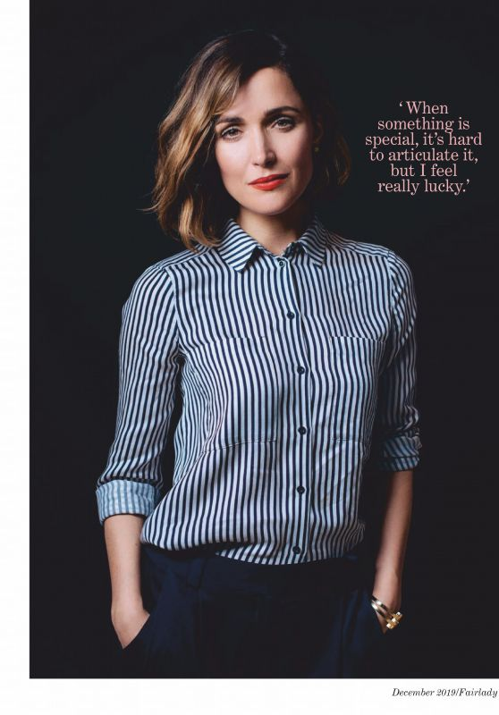 Rose Byrne - Fairlady December 2019 Issue