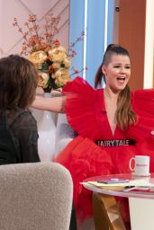 Saara Aalto - Lorraine TV Show in London 11/28/2019
