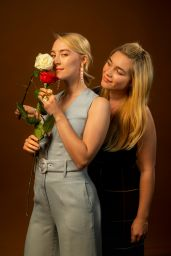 Saoirse Ronan and Florence Pugh - Photoshoot for LA Times October 2019