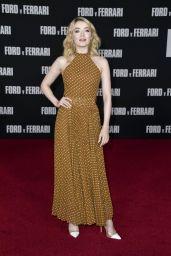 "Sarah Bolger – ""Ford v Ferrari"" Premiere in Hollywood"