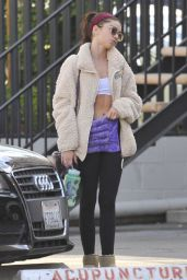 Sarah Hyland - Leaving Pilates Class in Studio City 11/02/2019