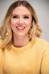 "Scarlett Johansson - ""Marriage Story"" Press Conference in LA"