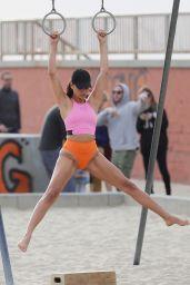 Shanina Shaik - Photoshoot on Venice Beach 11/26/2019