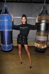 Shanina Shaik – PUMA x Balmain Launch Event in LA