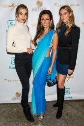 Sistine Stallone - Social CBD And Artha Wellness Sanctuary Launch Party in LA
