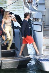 Sofia Richie and Scott Disick - Enjoying a Sunshine Boat Trip in Miami 11/27/2019