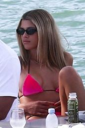 Sofia Richie in a Bikini in Miami 11/25/2019