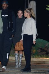 Sofia Richie With Vas J Morgan at Nobu in Malibu 11/20/2019