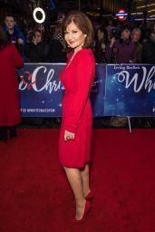 Stephanie Beacham - White Christmas Musical Press Night in London 11/25/2019