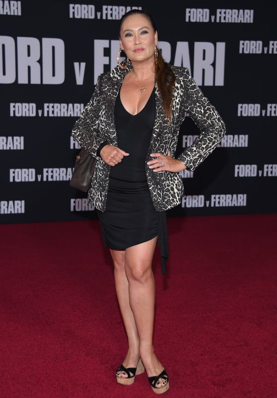 "Tia Carrere – ""Ford v Ferrari"" Premiere in Hollywood"