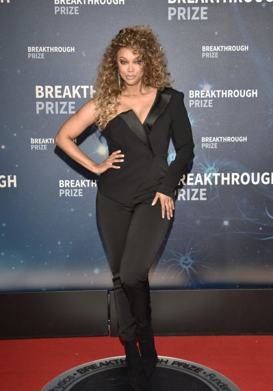 Tyra Banks – 2019 Breakthtough Prize Ceremony