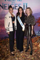 """Vaimalama Chaves – """"Frozen 2"""" Premiere in Paris"""