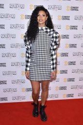Vick Hope – Comedy Central Friends Festive Exhibition Launch in London 11/28/2019