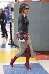 Victoria Beckham is Stylish - JFK Airport in NYC 11/05/2019