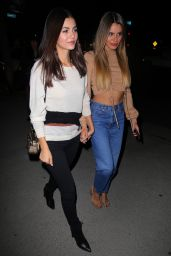 Victoria Justice and Madison Reed - Arriving at the Love Leo Rescue Fundraiser in LA