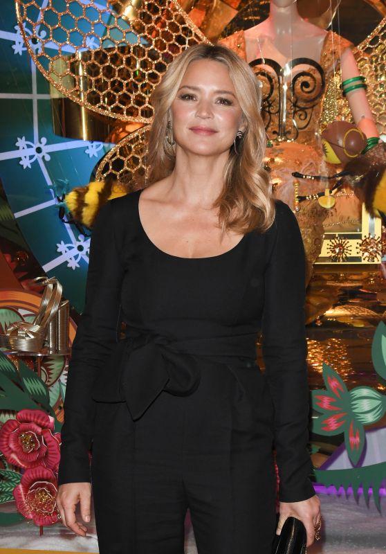 "Virginie Efira - ""La Ruche de Noel"" Christmas Decorations Inauguration in Paris 11/20/2019"