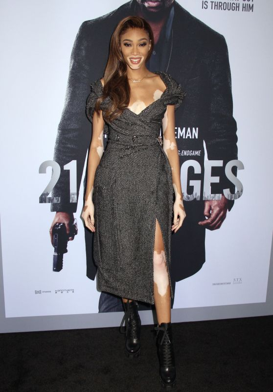 "Winnie Harlow – ""21 Bridges"" Special Screening in NYC"