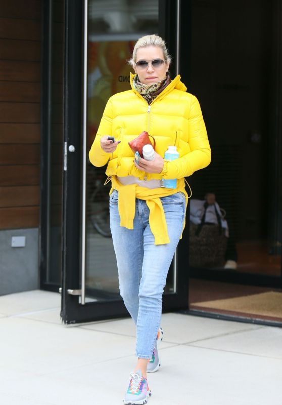 Yolanda Hadid Street Style 11/05/2019