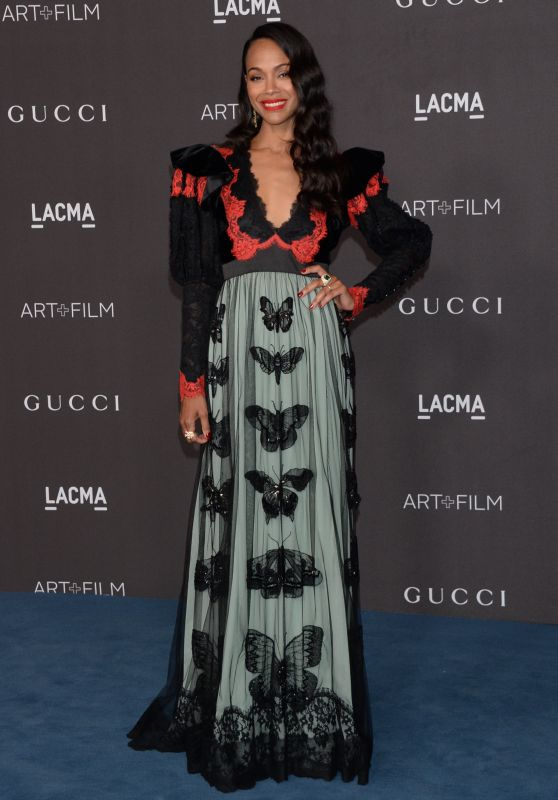 Zoe Saldana – 2019 LACMA Art and Film Gala