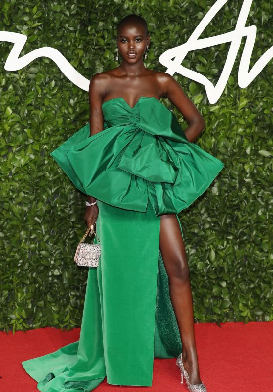 Adut Akech – Fashion Awards 2019 Red Carpet in London