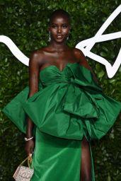Adut Akech – Fashion Awards 2019 Red Carpet in London