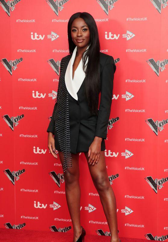 "AJ Odudu - ""The Voice"" TV Show Photocall in London 12/16/2019"