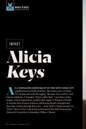 Alicia Keys - Billboard Magazine 12/14/2019 Issue